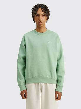 NikeLab Solo Swoosh Fleece Crew Neck Steam