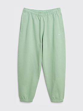 NikeLab Solo Swoosh Fleece Pants Steam / White