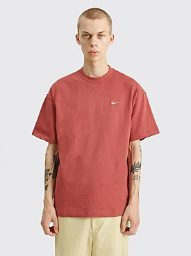 NikeLab Solo Swoosh T-shirt Cedar / White