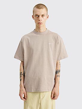 NikeLab Solo Swoosh T-shirt Malt / White