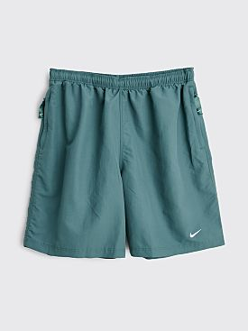 NikeLab Solo Swoosh Shorts Hasta / White