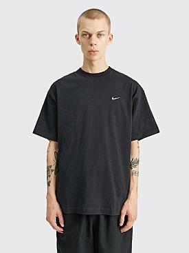 NikeLab Solo Swoosh T-shirt Black / White