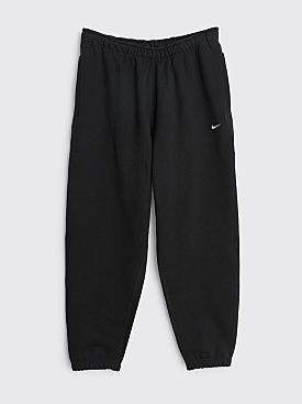 NikeLab Solo Swoosh Fleece Pants Black / White