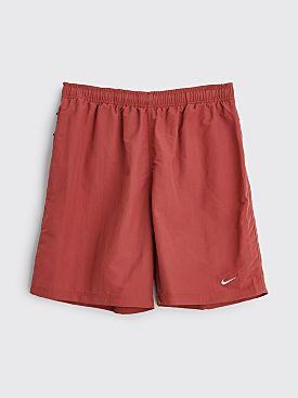 NikeLab Solo Swoosh Shorts Cedar / White
