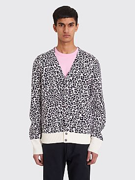 Noon Goons Chatterbox Cardigan Leopard Pink