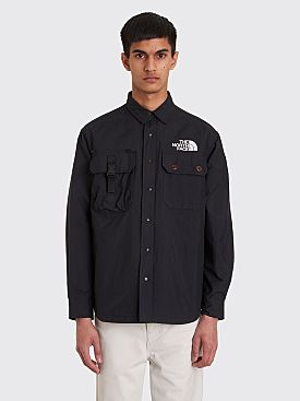 The North Face Black Series Pertex Coach Shirt Jacket Black