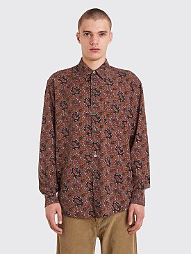 Our Legacy Initial Shirt TB Print Brown
