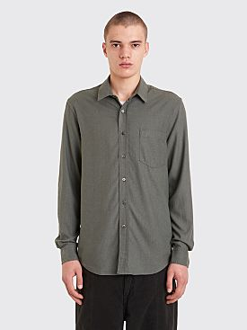 Our Legacy Classic Shirt Silk Dull Grey