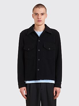 Our Legacy Loan Jacket Black Melton
