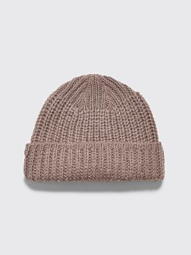 Our Legacy Knitted Hat Stone