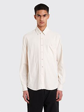 Our Legacy Classic Shirt White Silk