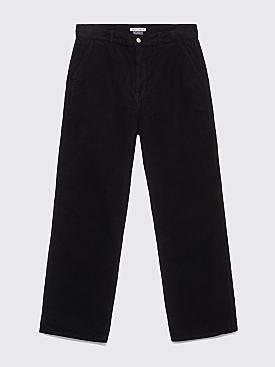 Our Legacy Commando Pants Black Moleskin