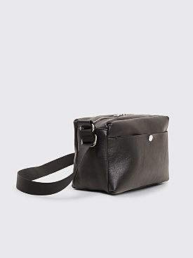 Our Legacy WAH Leather Bag Black