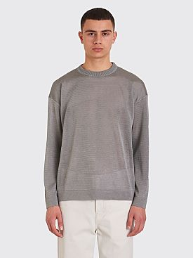 Our Legacy Sonar Roundneck Sweater Grey