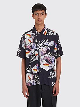 Our Legacy Box Short Sleeve Shirt Crushed Tiles Print