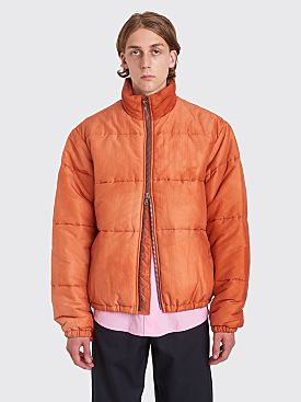 Our Legacy Walrus Puffa Jacket Rust