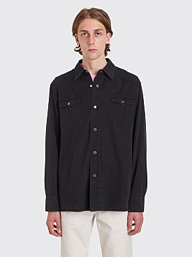 Our Legacy New Frontier Denim Shirt Black