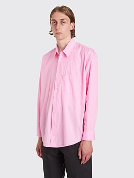 Our Legacy Coco Poplin Shirt Cerise