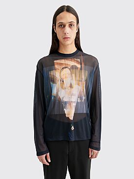 Our Legacy Lock Box LS T-shirt Portrait Black
