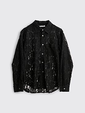Our Legacy Policy Shirt Lace Black