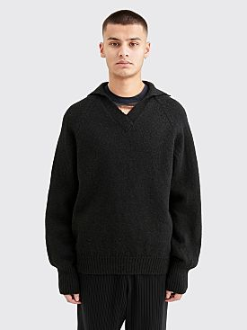 Our Legacy Big Knit Coarse Wool Black