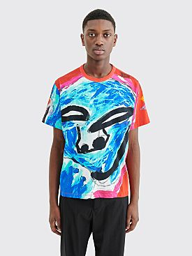 Our Legacy New Box T-shirt Voodoo Face Multi Color