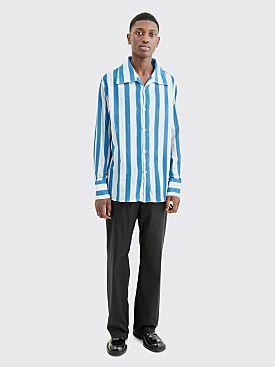 Our Legacy Soul Shirt Stripe Blur Blue