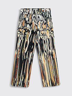 Our Legacy Third Cut Denim Pants Hanabi Print Multi Color