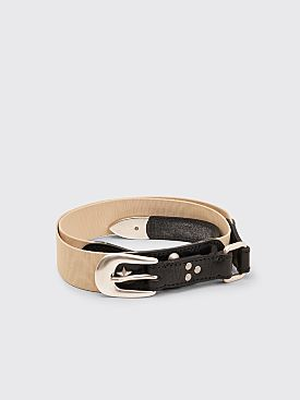Our Legacy Gaucho Belt Off White
