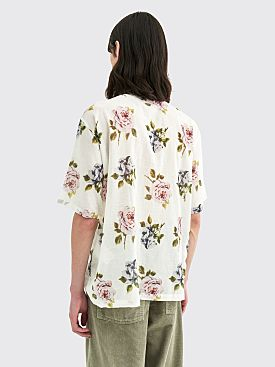 Our Legacy Box Shirt Rose Print White