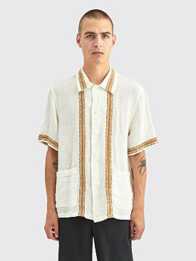 Our Legacy Elder Linen Shirt Rough Sack White