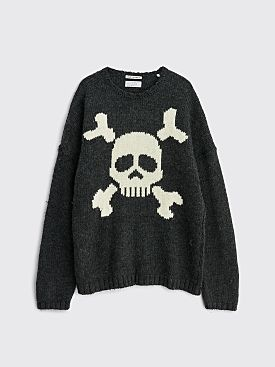 Our Legacy Popover Roundneck Arcadian Jolly Roger Grey