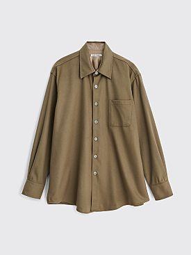 Our Legacy Above Shirt Dark Olive