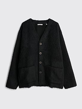 Our Legacy Mohair Cardigan Black