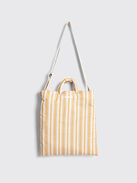 Our Legacy Padded Pillow Tote Gradient Yellow