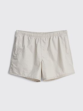 Our Legacy Drape Tech Twill Trunks Sandstone