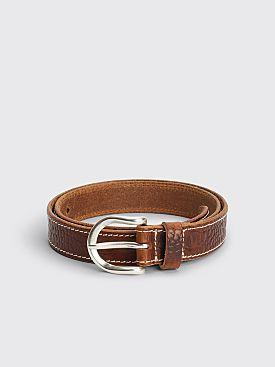 Our Legacy Croco Belt Brown