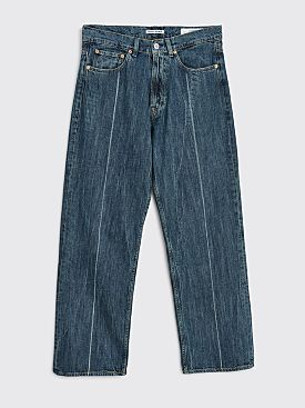 Our Legacy Third Cut Jeans Worn Blue Nep