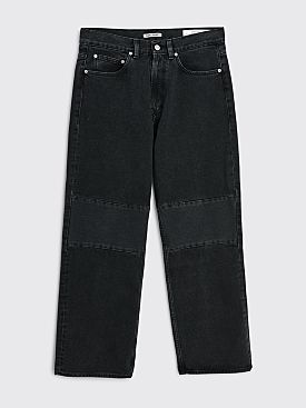 Our Legacy Extended Third Cut Washed Black Denim