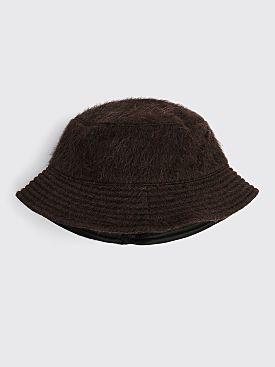 Our Legacy Bucket Hat Hairy Alpaca Brown