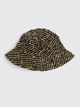 Our Legacy Bucket Hat Cigar Stripe Black / Beige