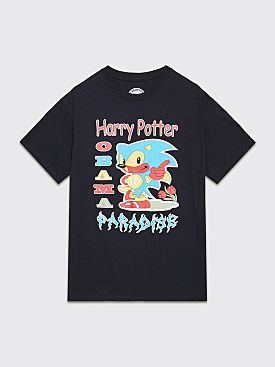 Paradise Harry Potter Obama T-shirt Black