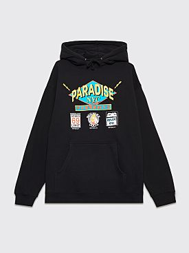 Paradise Flashdancers Hooded Sweatshirt Black