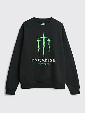 Paradise Monster Paradise Crew Neck Sweatshirt Black
