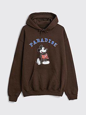 Paradise Mickey Boner Hooded Sweatshirt Brown
