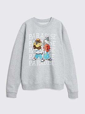 Paradise Kris Kross Crew Neck Sweatshirt Grey