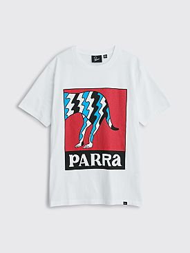 Parra Dog Tail Static T-shirt White