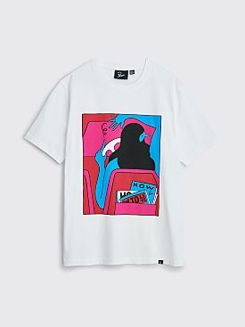 Parra How To Live Now T-shirt White