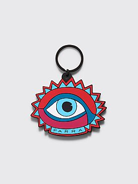 Parra Open Eye Key Chain Red / Blue