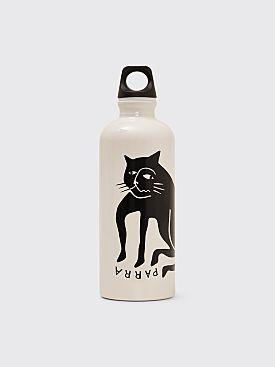 Parra Cat Sigg Bottle White / Black